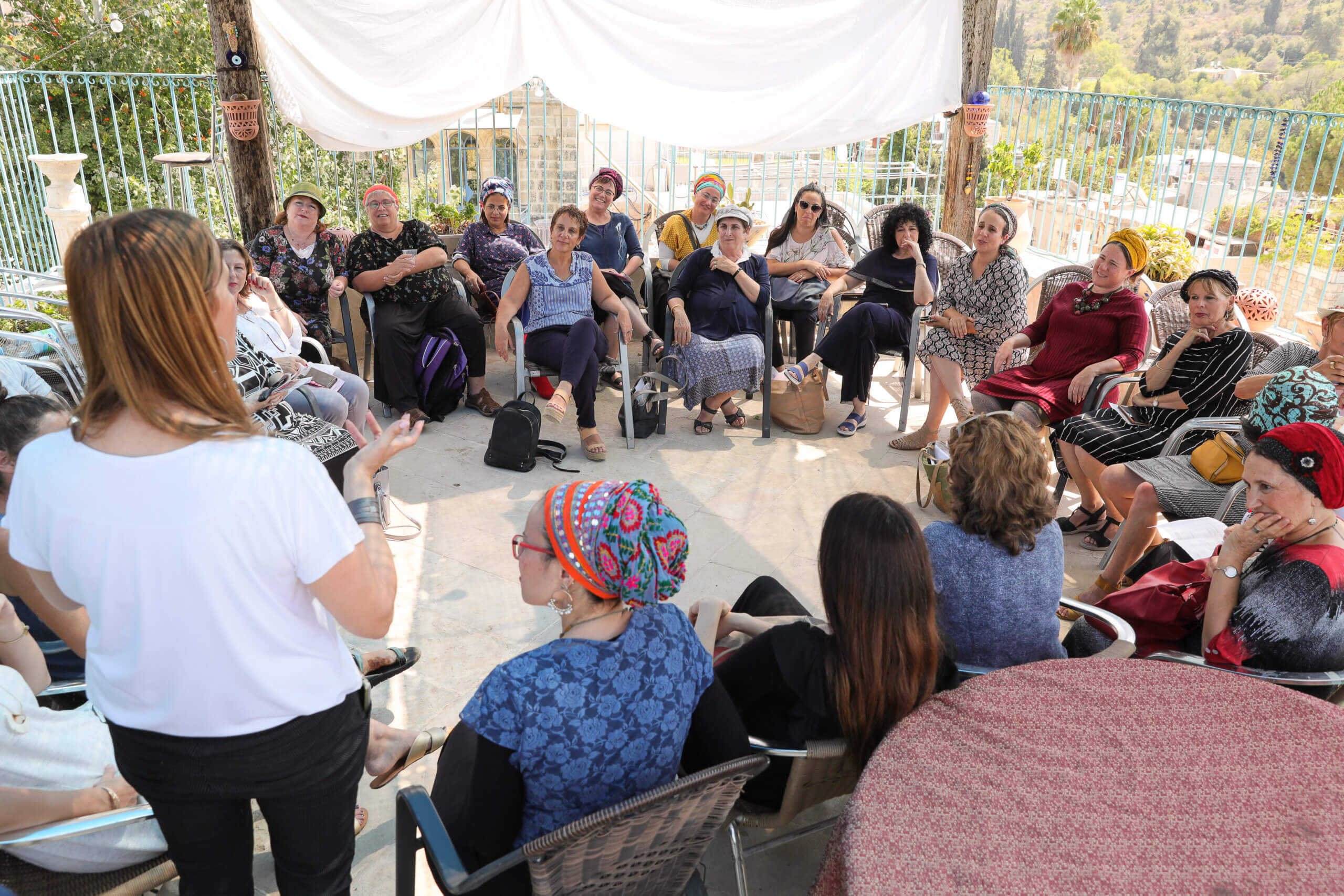 מפגש של נשים